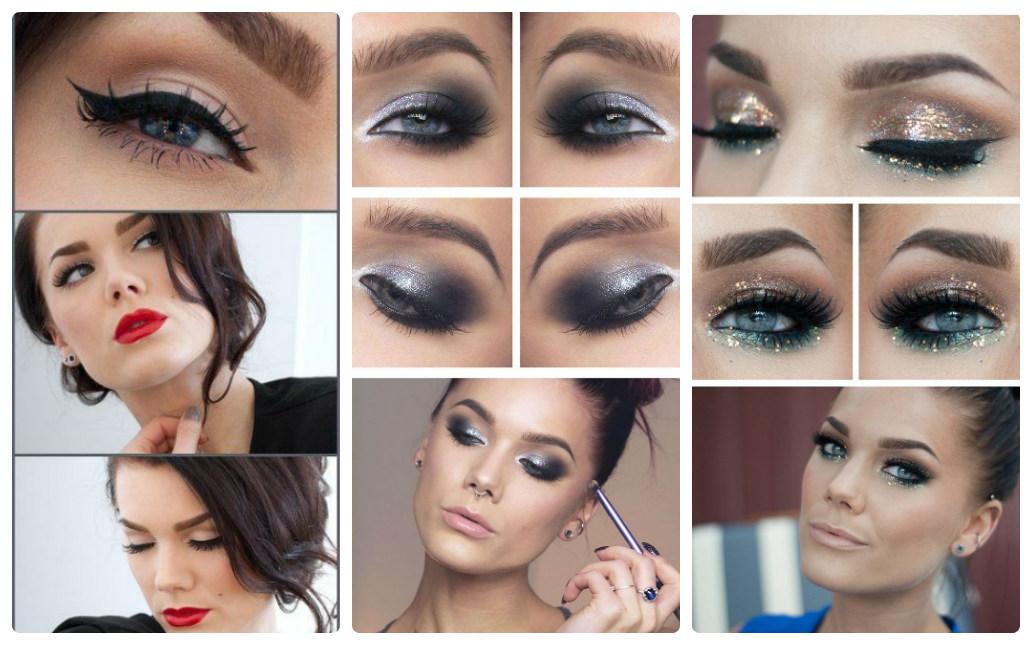 новогодний макияж 2015
