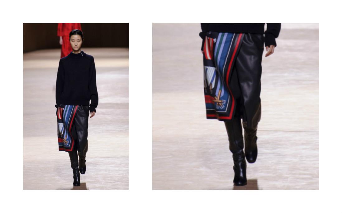 Неделя моды в Париже: коллекция Hermès, осень-зима 2015