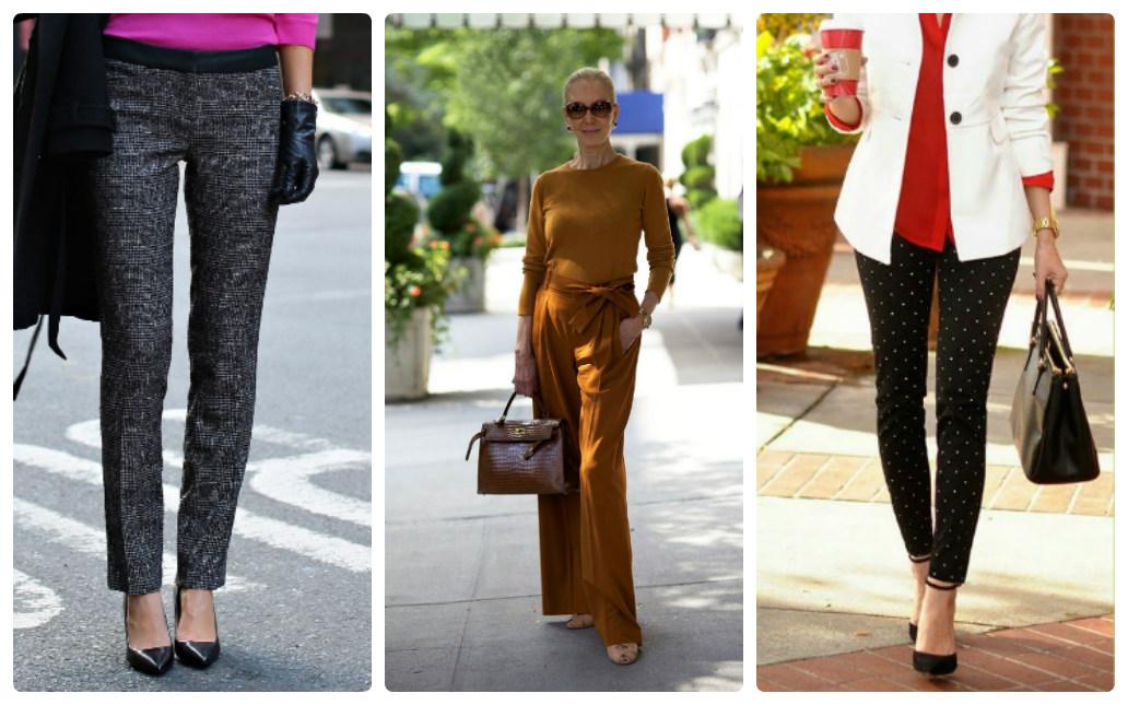 Где купить женские брюки для типа фигуры прямоугольник