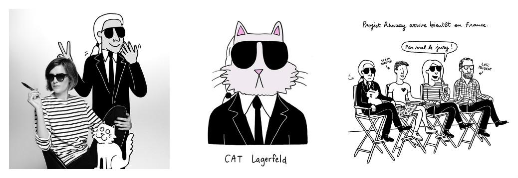 Как выглядит новая капсульная коллекция Карла Лагерфельда: кошка Шупетт, шутки и 1 апреля