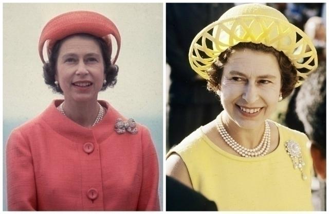 Эволюция стиля королевы Елизаветы II харди эмис