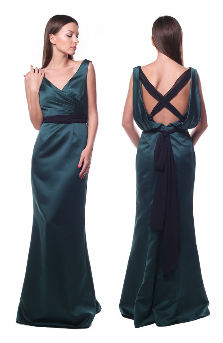 Зеленое платье Киры Найтли