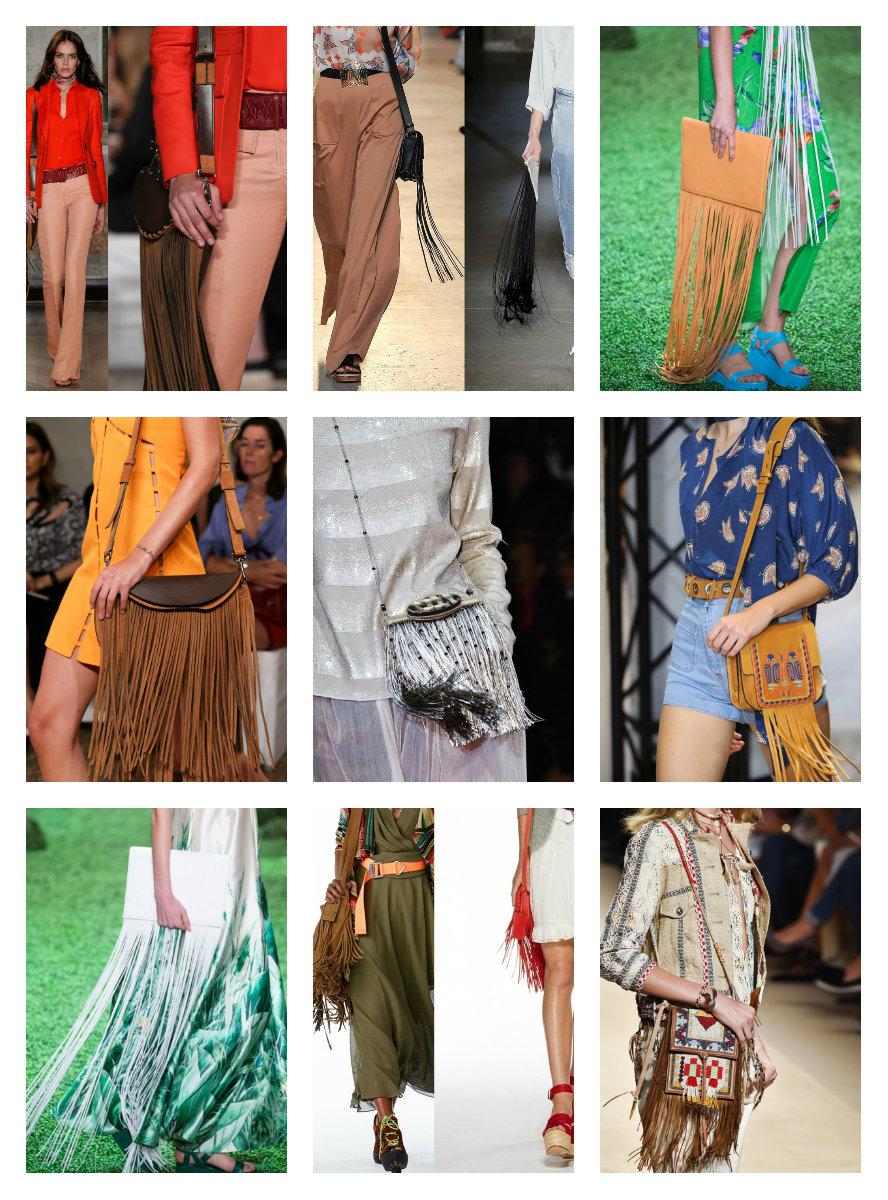 как носить бахрому в веснне-летнем сезоне 2015