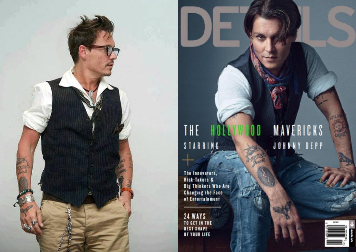 Как одеть мужчину в стиле Джонни Деппа
