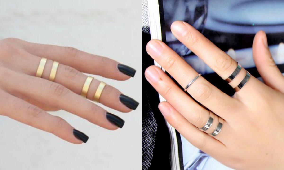 Фаланговые кольца: как носить, какие выбрать