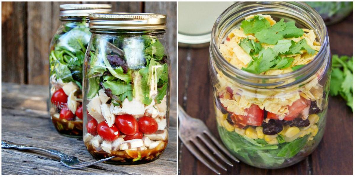 Салат в банке: блюдо в тренде, которое обязательно стоит приготовить - фото №2
