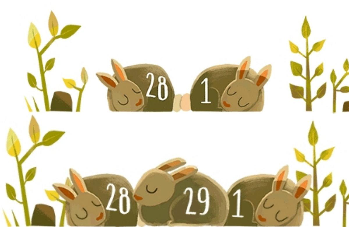 Високосный год – 2016: Google выпустил дудл в честь уникального календарного дня - фото №1