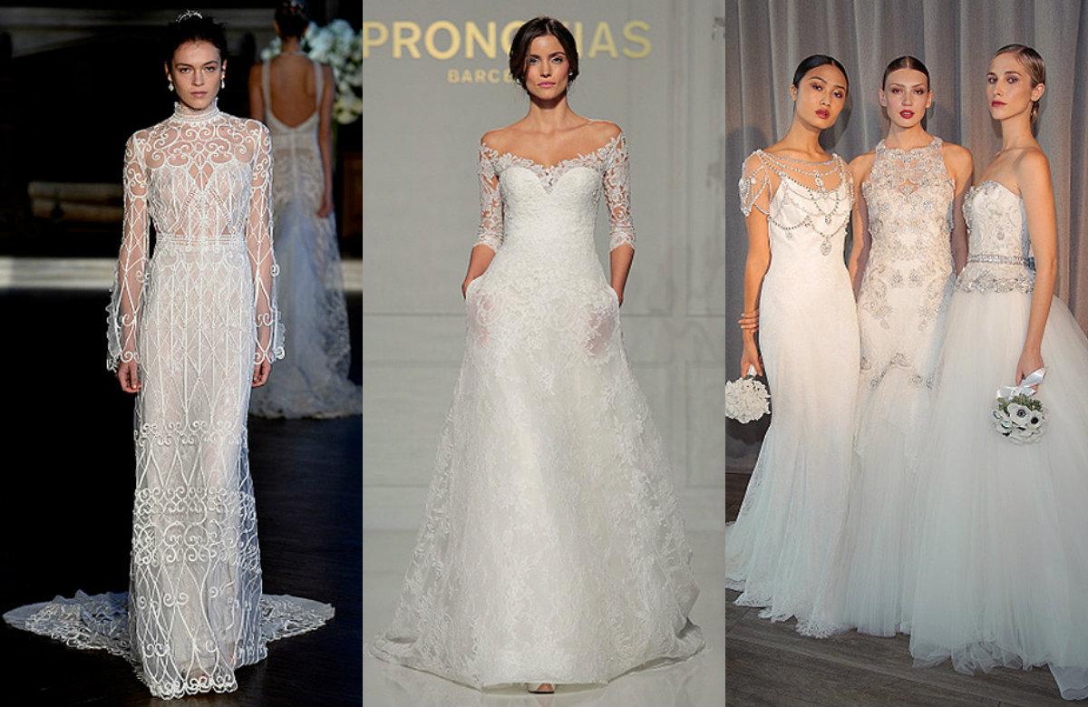 30 лучших свадебных платьев Недели моды в Нью-Йорке