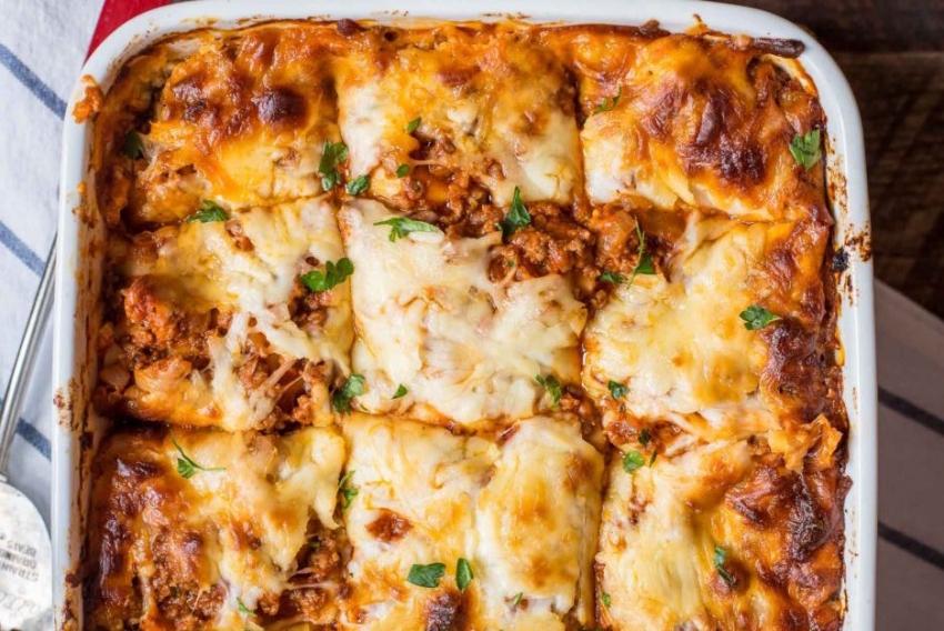 Спагетти с малиной, конфеты из сыра, классическая лазанья... А что ты приготовишь из крем-чиза? - фото №27