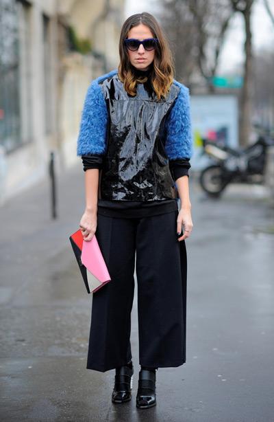 Тренд: модные брюки-кюлоты - фото №33