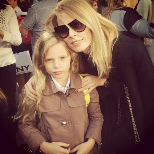 Фреймут с дочкой