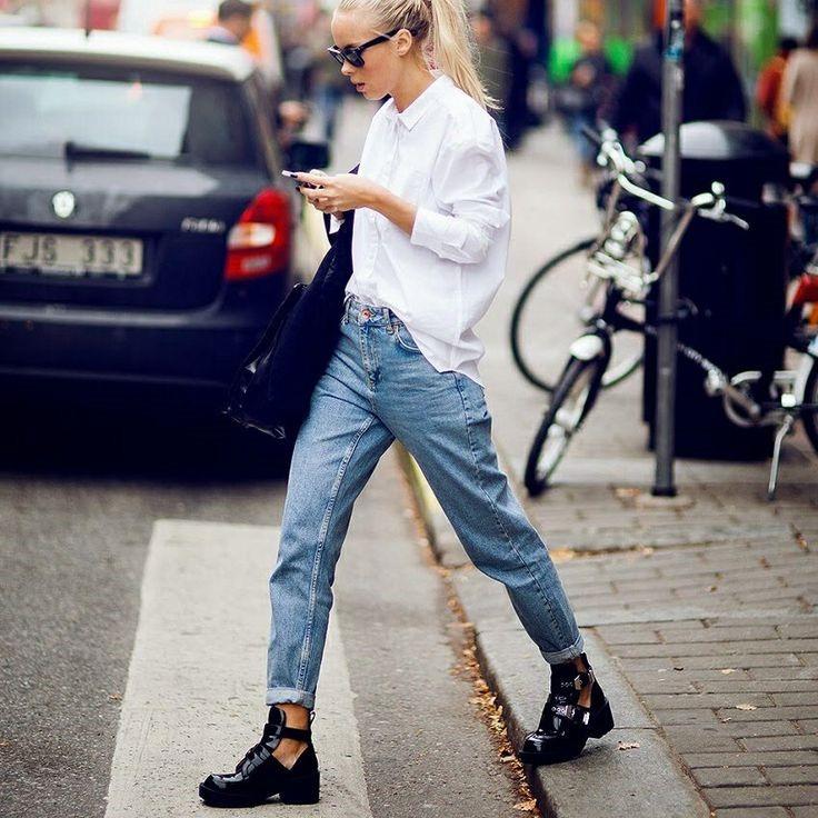 Как вернулись в моду несексуальные мом-джинсы - фото №3