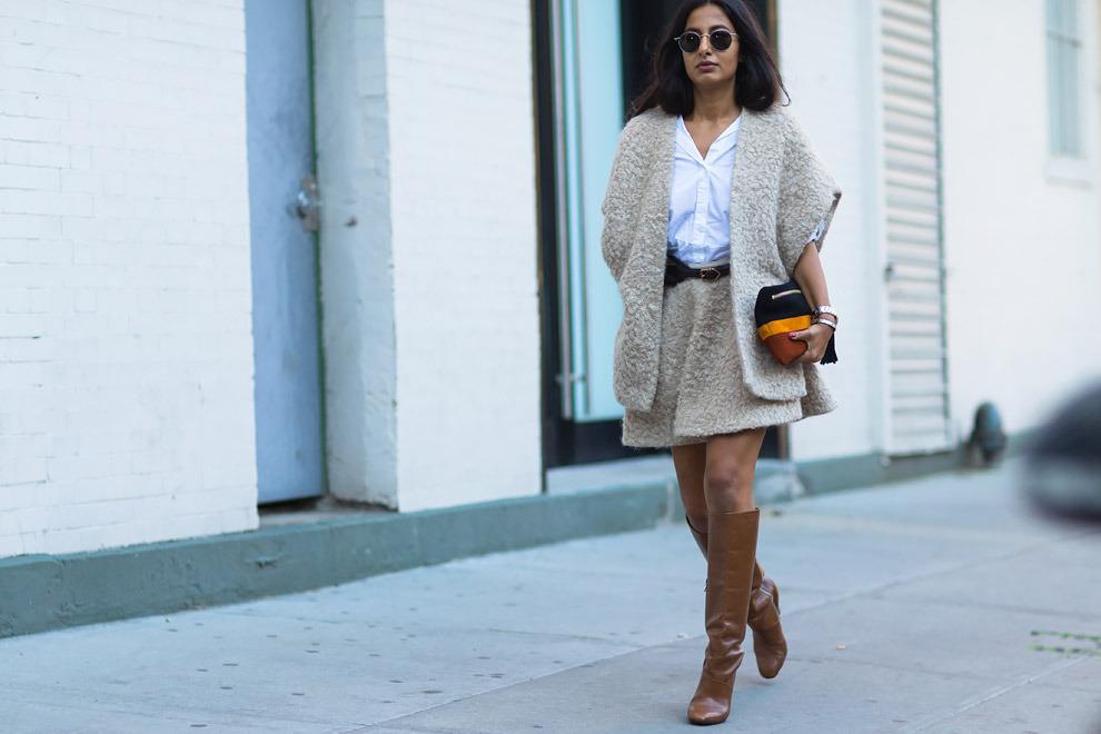 Неделя моды в Нью-Йорке 2015 лучшие образы