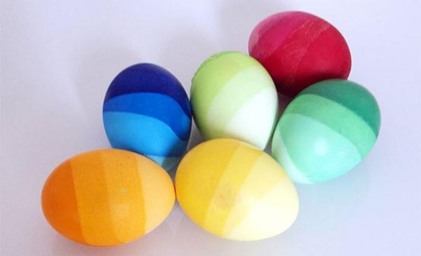 Как красиво красить яйца на Пасху: лучшие идеи - фото №4
