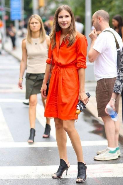 Тренд: платье-рубашка - фото №10
