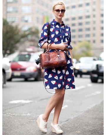 Тренд: платье-рубашка - фото №23