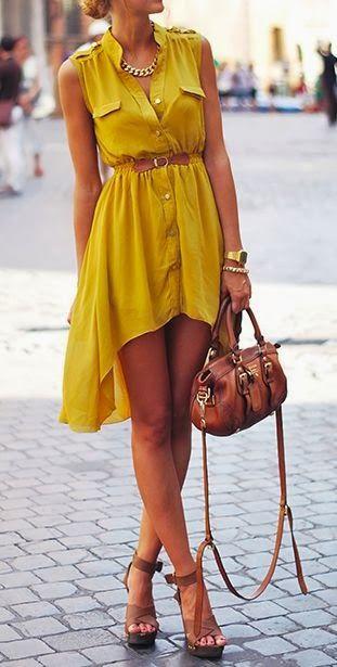 Тренд: платье-рубашка - фото №12