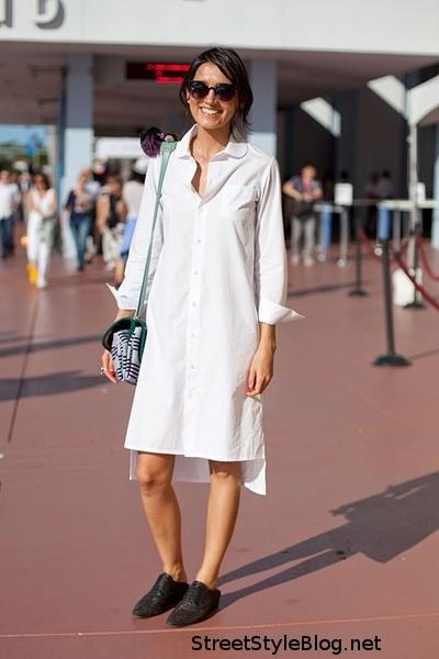 Тренд: платье-рубашка - фото №16