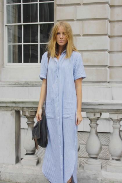 Тренд: платье-рубашка - фото №24