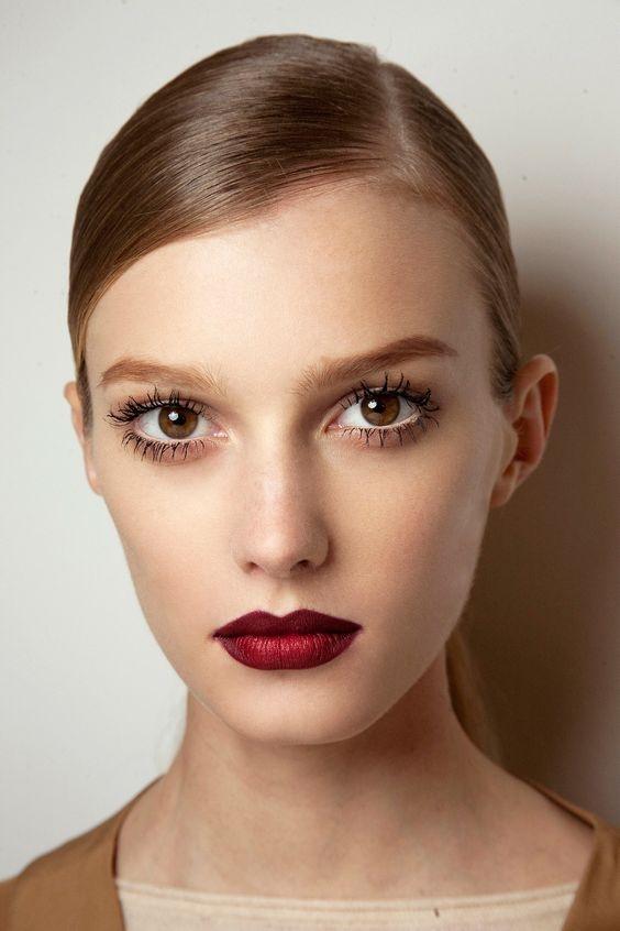"""Вместо """"красненького"""" или модный тренд на винный макияж губ (+ВИДЕО) - фото №1"""