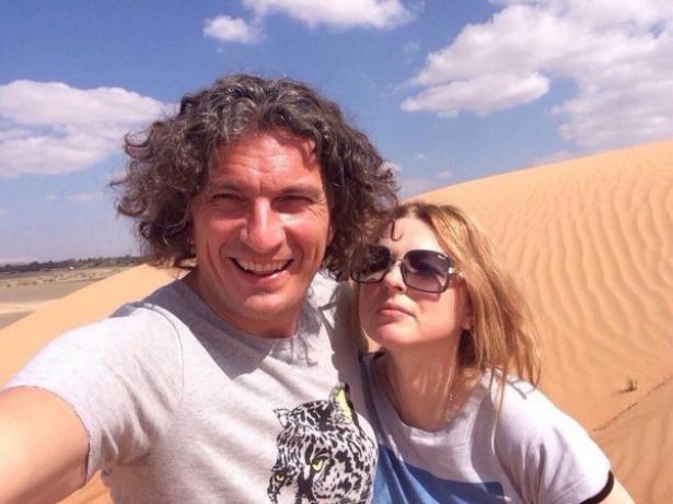 скрбяин с женой