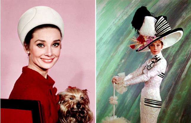 Издается фотоальбом Одри Хепберн и ее шляпок - фото №1