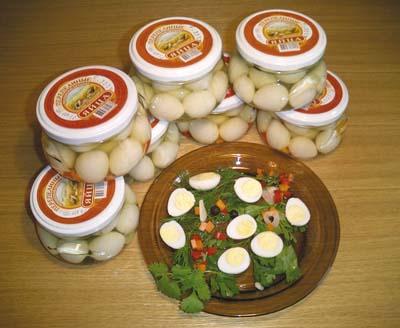 Маринованные перепелиные яйца - фото №1