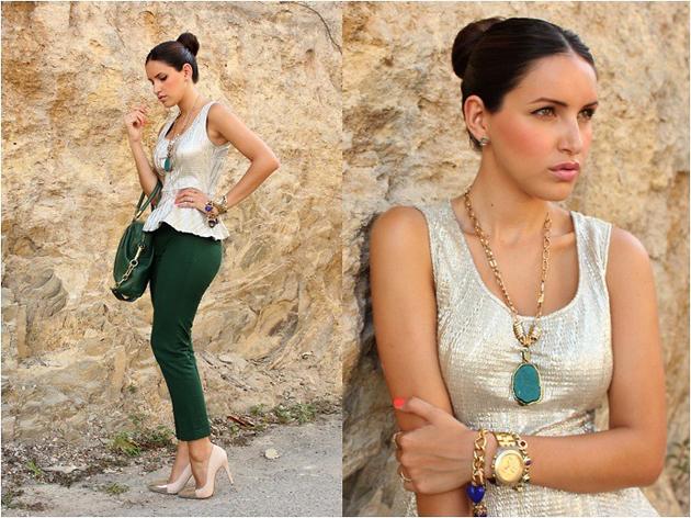 Тренд: изумрудно-зеленый цвет - как и с чем носить - фото №3
