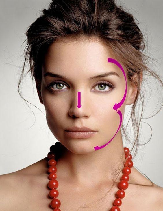 как правильно пользваться бронзером для лица