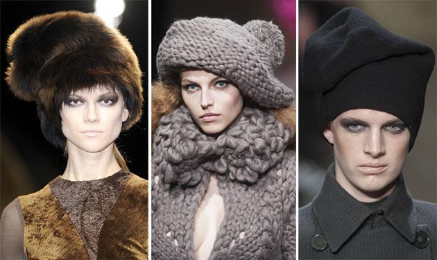 Модные шапки сезона осень-зима 2013-2014 - фото №9