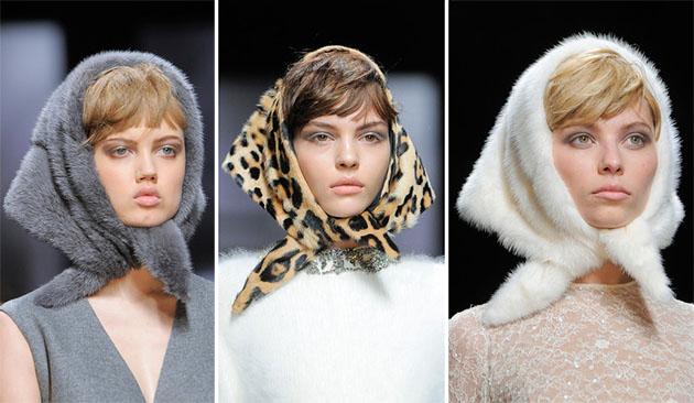 Модные шапки сезона осень-зима 2013-2014 - фото №12