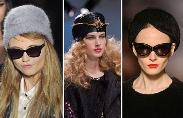 Модные шапки сезона осень-зима 2013-2014 - фото №8