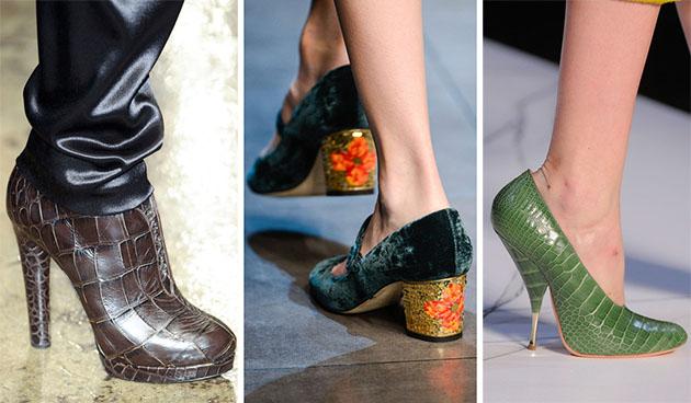 Модная обувь сезона осень-зима 2013-2014 - фото №1