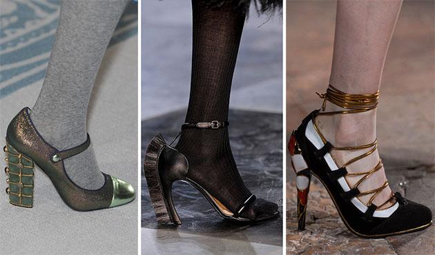Модная обувь сезона осень-зима 2013-2014 - фото №9