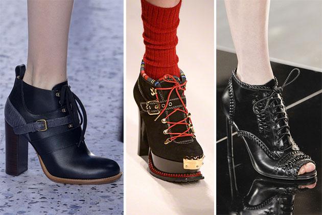 Модная обувь сезона осень-зима 2013-2014 - фото №16