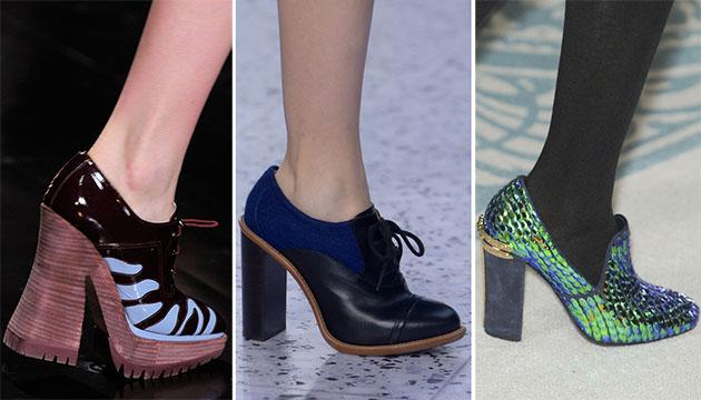 Модная обувь сезона осень-зима 2013-2014 - фото №6