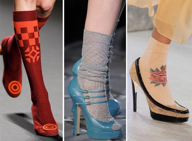 Модная обувь сезона осень-зима 2013-2014 - фото №19