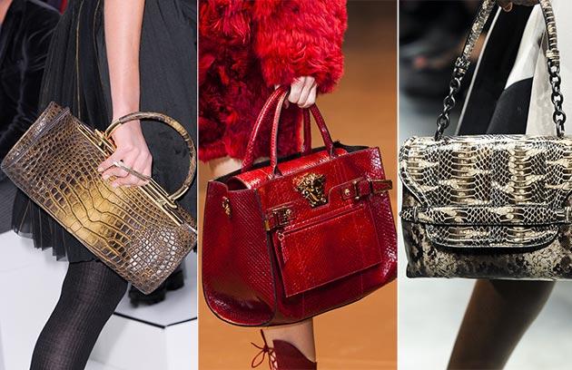Модные сумки осени 2014: что, где, почем - фото №17