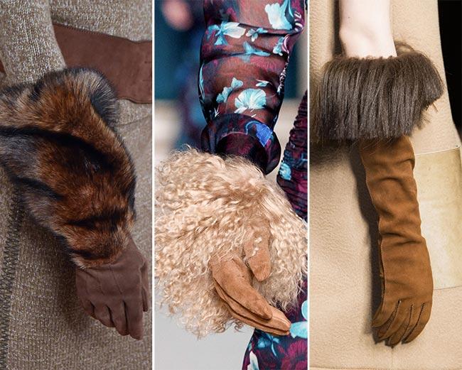 Модные перчатки на осень 2015