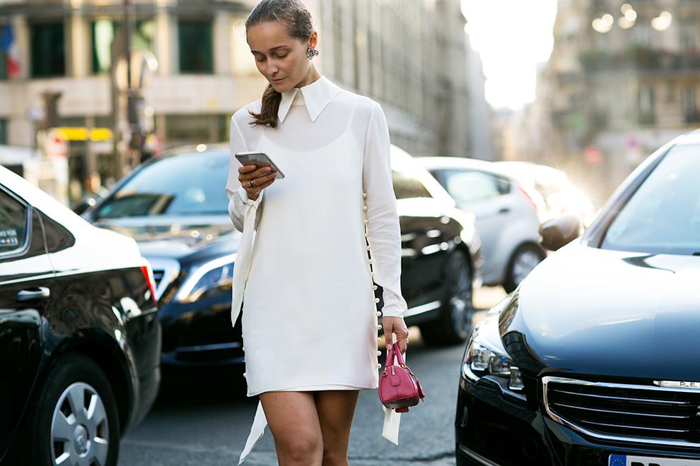 Street style: Неделя высокой моды в Париже, день 1