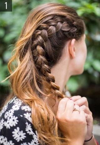 Что делать с волосами в жару: 10 идей простых летних причесок на длинные волосы 2016 (фото) - фото №19
