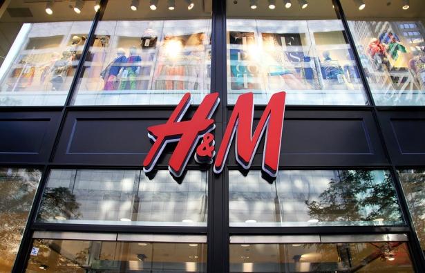 H&M начинает работу в украине