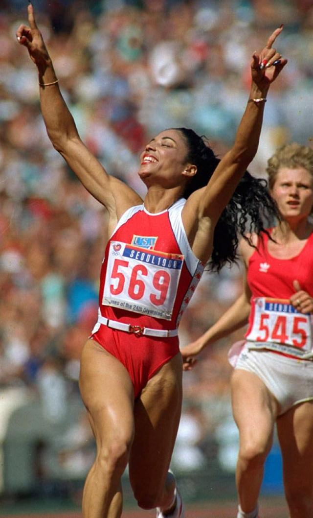 Олимпиада в Рио-де-Жанейро-2016  Флоренс Гриффит-Джойнер