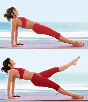 Какие упражнения сгонят внутренний жир - фото №4