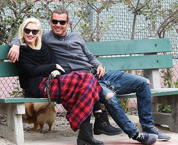 Гвен Стефани с бывшим мужем