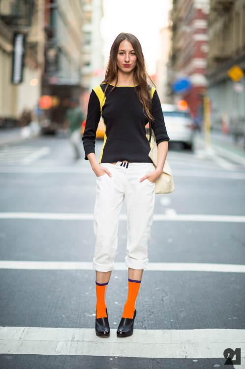 Тренд сезона весна-лето 2014: сочетаем носки и обувь - фото №29