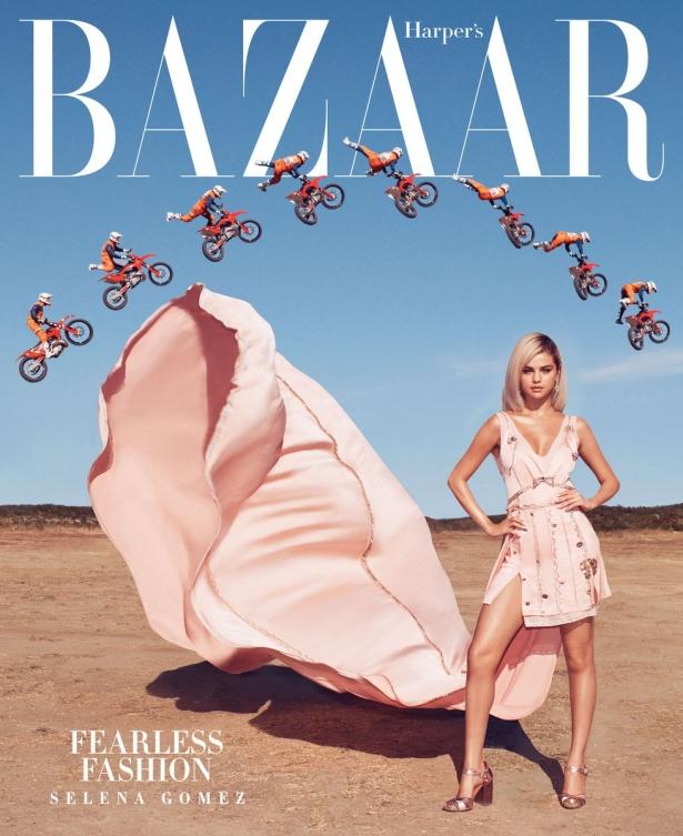селена гомес Harper's Bazaar