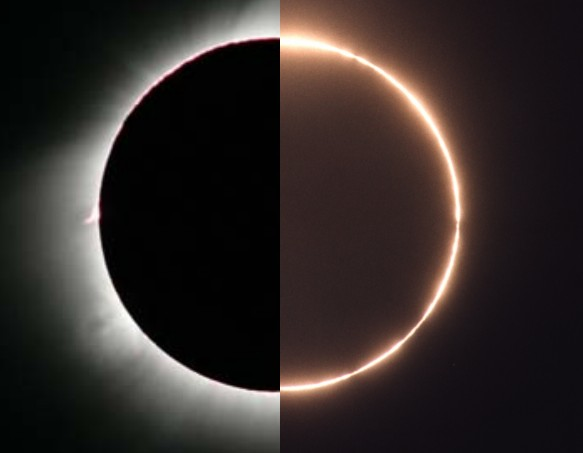 Сегодня произойдет гибридное солнечное затмение: особенности - фото №1