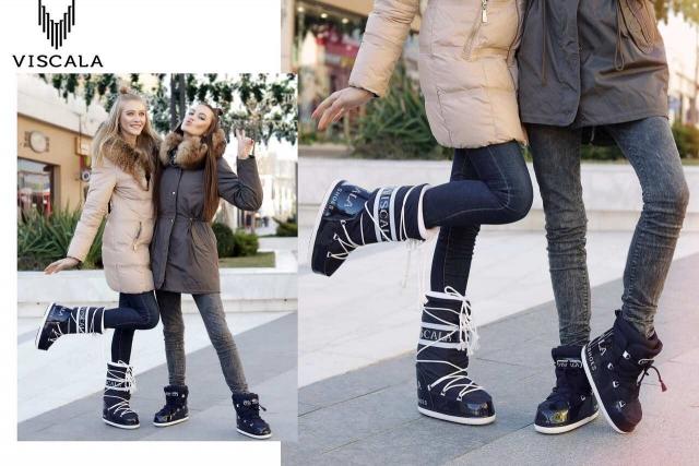 SnowShoes: удобная теплая зимняя обувь может быть красивой! - фото №2