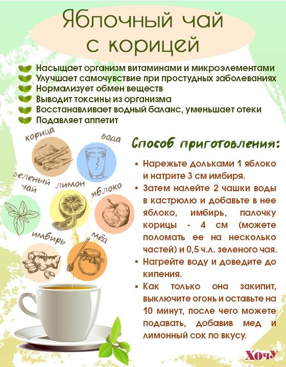 Витаминная бомба: 7 самых полезных рецептов чая, которые повысят ваш иммунитет (Инфографика) - фото №4